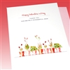 "Valentine's Day  "" Wonderful Mom ""  LV120 Greeting Card"