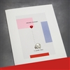 "Valentine's Day  "" Elephant ""  LV121 Greeting Card"