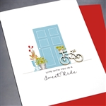 "Love  "" Sweet Ride ""  LV79 Greeting Card"