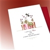 "Valentine's Day  "" Love You Mom ""  LV87 Greeting Card"