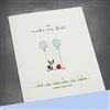 "Love  "" I Can Fly ""  LV98 Greeting Card"