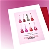 "Valentine's Day  "" Birthday, Rock On ""  LVBD02 Greeting Card"