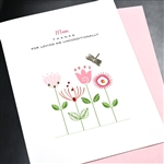 "Mother's Day  "" Unconditional Love ""  MD148 Greeting Card"
