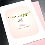 "Mother's Day  "" Thank You ""  MD65 Greeting Card"