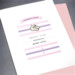 "New Baby "" Teeny Tiny ""  NB43 Greeting Card"