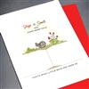"New Baby "" Frogs & Snails ""  NB51 Greeting Card"