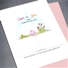 "New Baby "" Sugar & Spice ""  NB52 Greeting Card"