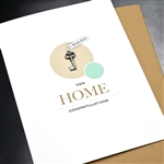 "New Home  ""Key""  NH02 Greeting Card"
