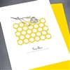 "New Home  ""Bee Hive""  NH03 Greeting Card"