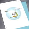 "New Home  "" Jet Plane ""  NH11 Greeting Card"