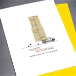 "New Home  "" Good Luck Move ""  NH16 Greeting Card"
