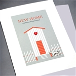 "New Home  ""Rest & Feel Better""  NH24 Greeting Card"