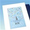 "New Years  "" Joy ""  NY17 Greeting Card"