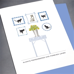 "Pet  "" Forever Loved, Cat ""  PET/SY13 Greeting Card"