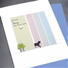 "Pet  "" So Very Sorry / Cat ""  PET/SY16 Greeting Card"