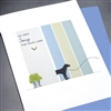 "Pet  "" So Very Sorry / Dog ""  PET/SY17 Greeting Card"