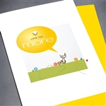 "From cat & dog  "" Love From Cat""  PETLV02 Greeting Card"
