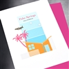 "Palm Springs   "" Jet Plane ""  PS08 Greeting Card"