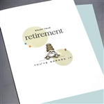 "Retirement  "" Car & Luggage ""  RT12 Greeting Card"