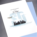 "Birthday  "" From San Diego, Airplane ""  SDBD04 Greeting Card"
