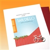 "Christmas  "" Bicycle From San Diego ""  SDHD13 Greeting Card"