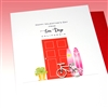 "Love  "" Bicycle ""  SDLV03 Greeting Card"