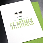 "Saint Patricks Day  "" Subglass ""  SP10 Greeting Card"