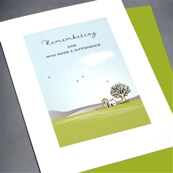 "Sympathy  "" Tree Of Life ""  SY01 Greeting Card"