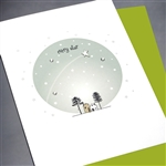 "Sympathy  "" Every Star ""  SY46 Greeting Card"