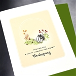 "Thanksgiving  "" Healthy & Hearty ""  TH36 Greeting Card"