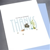 "Thank You  "" Sea Turtles ""  TY109 Greeting Card"