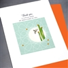 "Thank You  "" Bee & Cactus ""  TY117 Greeting Card"