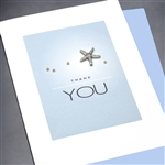 "Thank You  "" Starfish ""  TY12 Greeting Card"