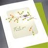 "Thank You  "" Silver Bird ""  TY34 Greeting Card"