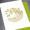 "Thank You  "" Hummingbird ""  TY84 Greeting Card"