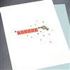 "Thank You  "" Gun ""  TY87 Greeting Card"