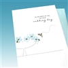 "Wedding  "" To The Both Of You ""  WD11 Greeting Card"