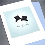 "Wedding Equality  ""Top Hats""  WD31 Greeting Card"