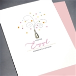 "Wedding / Engagement "" Champagne ""  WD52 Greeting Card"