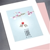 "Wedding  "" Love Birds ""  WD67 Greeting Card"