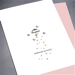 "Wedding /  Bridal Shower  "" Umbrella ""  WD71 Greeting Card"