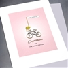 "Wedding  "" Just Married ""  WD73 Greeting Card"