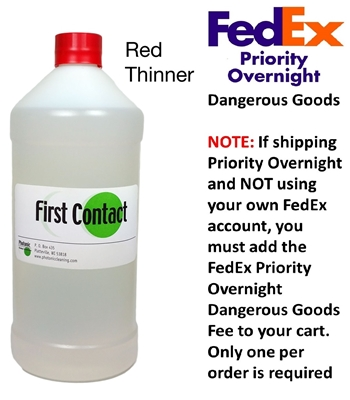 RTFCL - Red First Contact Thinner 1000 ml