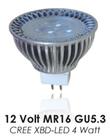 LED MR16 4XBD 25deg 3000k 250 lumens DAUER LED
