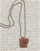 Stamped Arkansas HOME Necklace