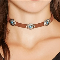 Western Boho Choker Necklace