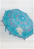 """I'll Think I'll Just Be Happy Today"" Fold Up Umbrella by Natural Life"