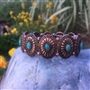 Coppertone Concho Stretch Bracelet