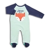 Baby Boy Clever Like a Fox Coverall