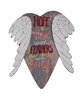 """Hope Is The Thing With Feathers That Perches In the Soul"" Wooden Sign ~"